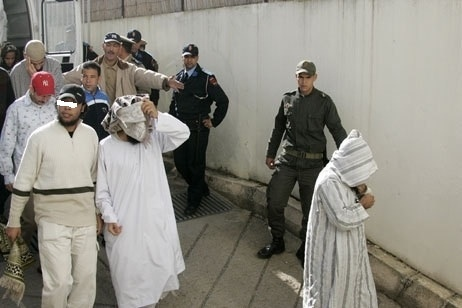 محكمة سلا توزع أحكاماً بالسجن بين سنة و5 سنوات على 12 متهما بالإرهاب