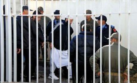 جنايات سلا تصدر أحكاما ما بين سنة و10 سنوات سجنا نافذا في حق 9 متهمين بالإرهاب