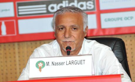 البركاني ناصر لاركيت يضع خارطة الطريق ويعين مدربي المنتخبات الوطنية لكرة القدم