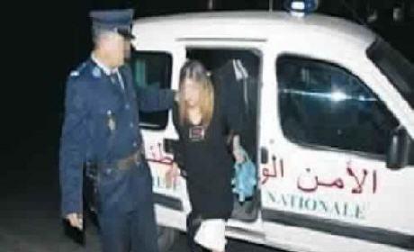 اعتقال سيدة اعتدت بالضرب والجرح بواسطة السلاح الأبيض على مسؤول أمني بوجدة