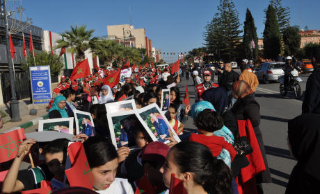 مسيرة استعراضية بمناسبة عيد المسيرة الخضراء المظفرة ببركان