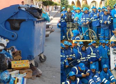 """بيان من الجمعية المغربية لحقوق الإنسان فرع بركان حول وضعية عمال شركة """"أفيردا"""" للنظافة"""