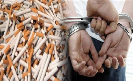 الدرك الملكي زايو تحجز سيارة سياحية محملة ب5000 علبة من سجائر مهربة من القطر الجزائري