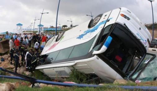 خلال أسبوع واحد ..حوادث السير بالمغرب تخلف مقتل 17 شخصا وإصابة 1486 بجروح
