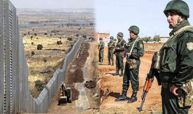 الجزائر تعلن مواصلة بناء الجدار الحدودي مع المغرب