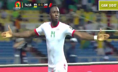 مدافع بركان دايو يوسوفو يهدي التعادل لمنتخب بلاده ضد الكاميرون
