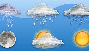 توقعات أحوال الطقس ليوم غد الثلاثاء