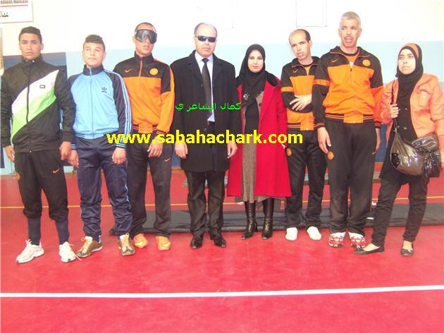 البطولة الوطنية لكرة الهدف للمكفوفين لجهة الشرق