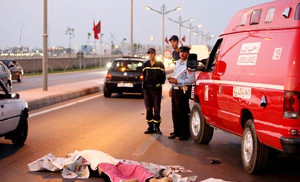 حوادث السير بالمغرب 1295 جريح خلال أسبوع واحد