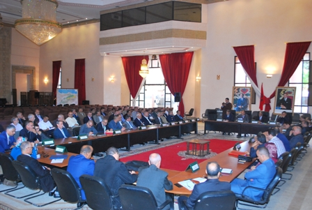 """عمالة إقليم بركان: اجتماع اللجنة الإقليمية لمحاربة ناقلات العدوى لتدارس إشكالية انتشار"""" مرض اللسان """"الأزرق"""""""