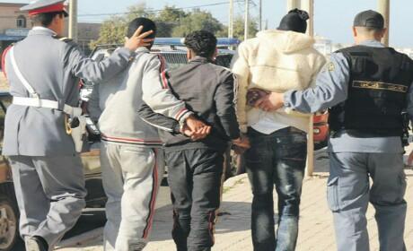 إلقاء القبض بالناظور على العصابة التي روعت سكان أكليم