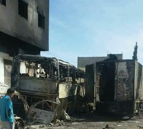 توقيف 14 شخصاً متورطين في أحداث شغب بإمزورن و بني بوعياش إقليم الحسيمة