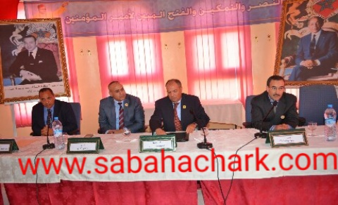 تنصيب عمر بنموسى رئيسا للمنطقة الإقليمية للأمن بالسعيدية