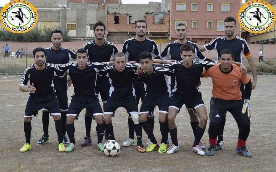 هنيئا… الجمعية الرياضية سيدي سليمان شراعة لكرة القدم يحقق الصعود
