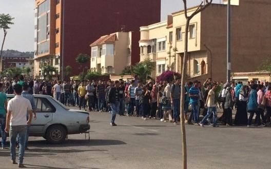 طلبة جامعة محمد الأول بوجدة يقاطعون الامتحانات