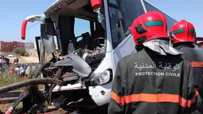 حوادث السير تحصد 19 قتيلا و 1588 جريحا في أسبوع بالمغرب