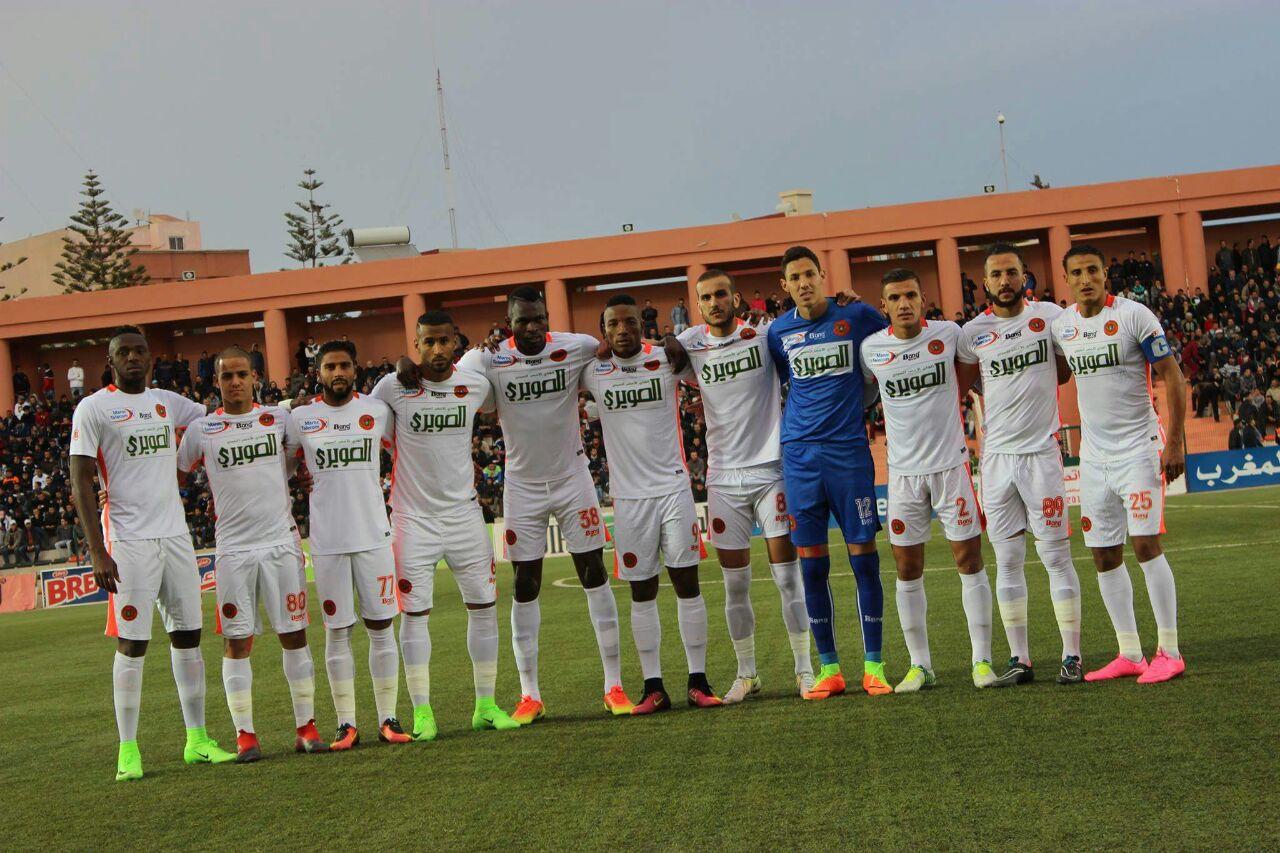نهضة بركان يحقق انتصارا على النادي القنيطري بثلاثية نظيفة:مباراة مجنونة