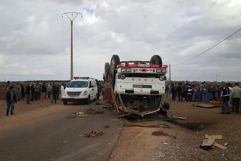 3 قتلى و17 جريحا في حادثة سير بإقليم فكيك