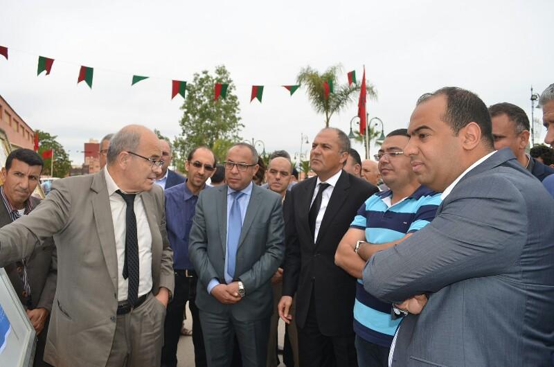 عامل إقليم بركان يدشن المحطة الطرقية الجديدة لمدينة بركان