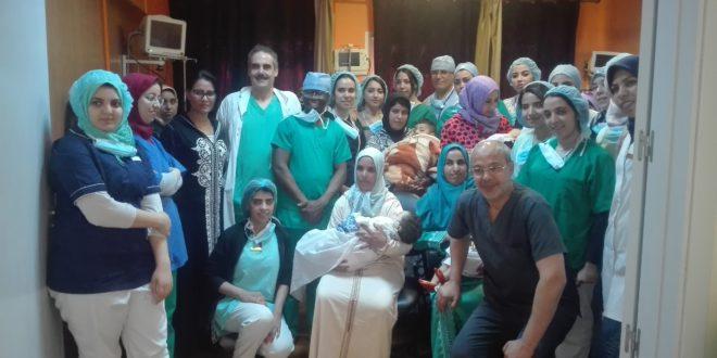 جمعية الحياة للثقافة والتنمية تقيم حفل ختان جماعي بمصحة الشفاء بوجدة