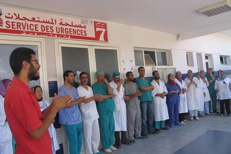 إضراب وطني يشل المستشفيات المملكة يوم 11 و12 ماي2017