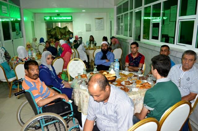 إفطار جماعي بمستشفى الإقليمي الدراق ببركان