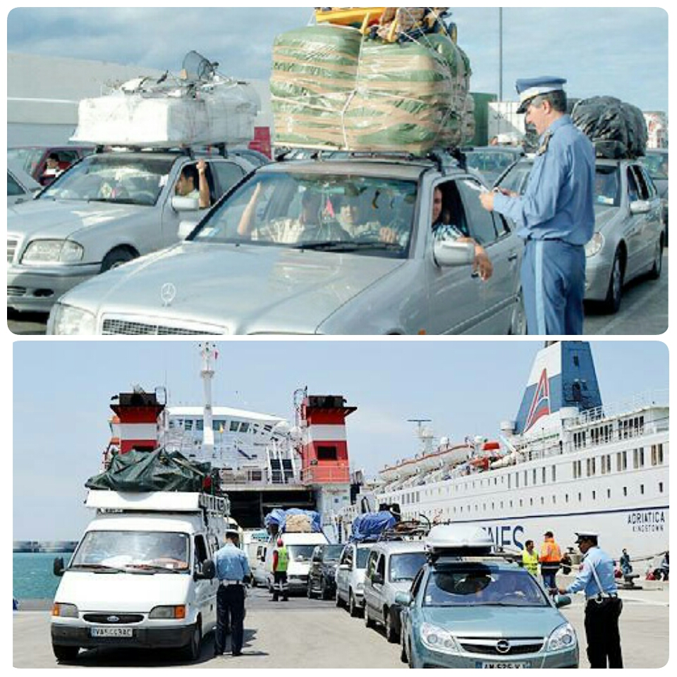 أزيد من 747 ألف من أفراد الجالية المغربية المقيمة بالخارج توافدوا عبر مختلف نقط العبور