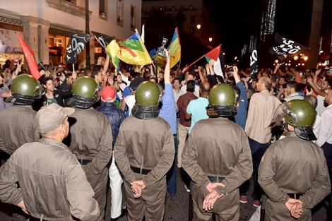 جهاز الأمن يعتقل عدداً من نشطاء الحراك الشعبي ببركان