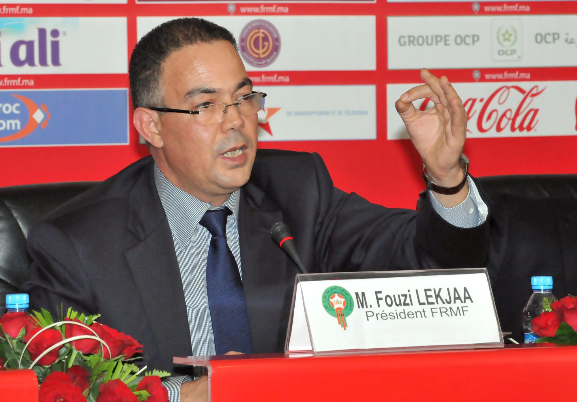 رسميا الفيفا تصادق على ترشح فوزي لقجع لعضوية مجلس الفيفا لكرة القدم.