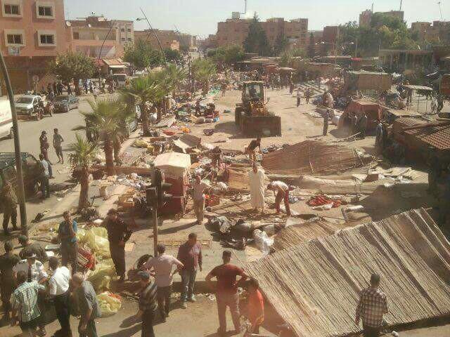 عامل إقليم بركان يطلق حملةجديدة لتحرير الملك العمومي ببركان
