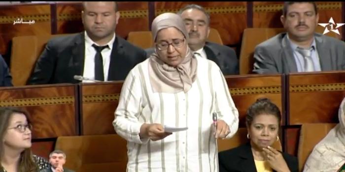 فاطمة الطوسي،النائبة البرلمانية…عدد الفقراء بالمغرب يبلغ حوالي 4.2 مليون
