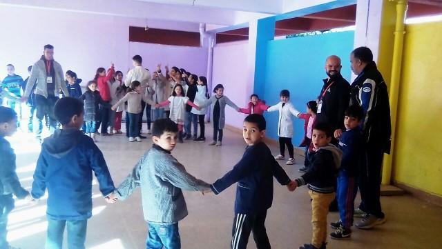 جمعية زهرة الربيع للتربية والتنمية الإجتماعية تحتفل باليوم العالمي للطفل ببركان