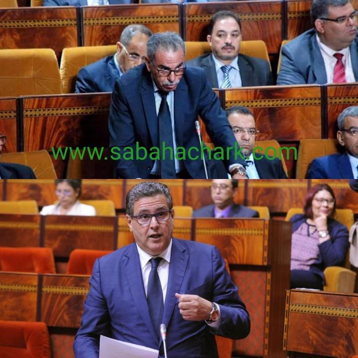 الوزير عزيز أخنوش يتهرب من سؤال محمد البكاوي حول مشكل تسويق الحوامض بإقليم بركان…