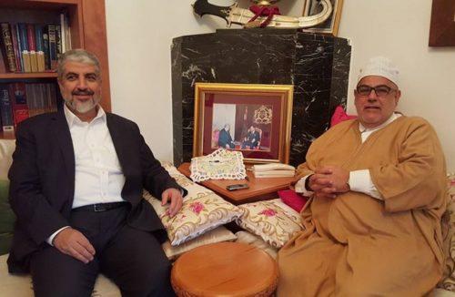 خالد مشعل…بعد لقاءاته بزعماء الاحزاب المغربية في بيت بنكيران