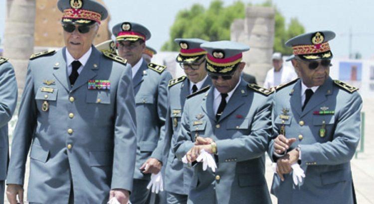 الملك محمد السادس يعين الجنرال محمد هرمو قائدا للدرك خلفا للجنرال حسني بنسليمان
