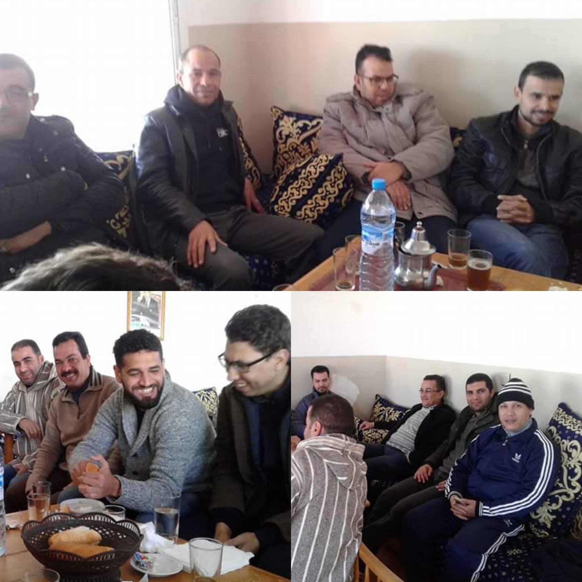 اجتماع المكتب الجهوي للنقابة الديمقراطية للعدل بمدينة السعيدية