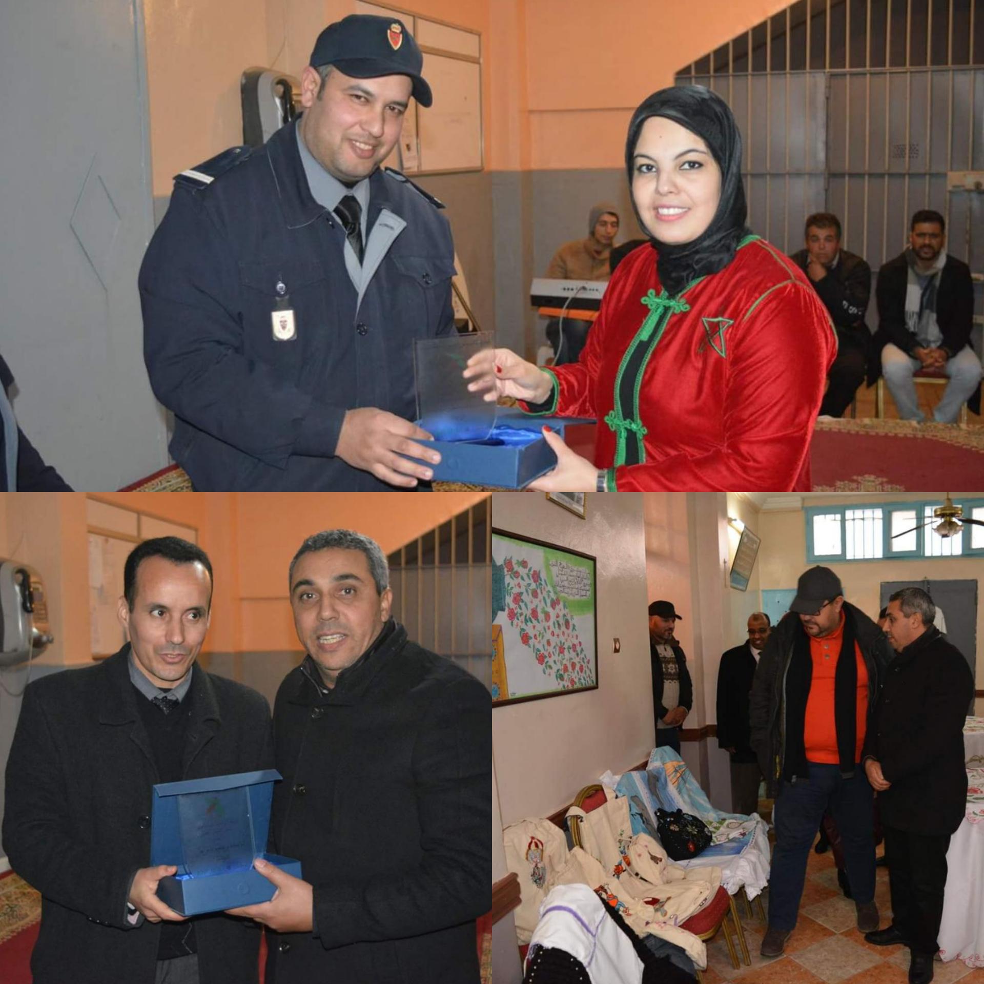 حفل فني وثقافي بإصلاحية بركان بمناسبة اليوم الوطني للسجين