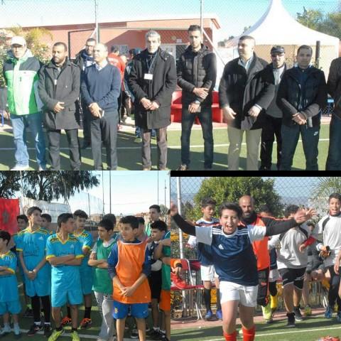اختتام دوري الجهوي لكرة القدم المصغرة لفائدة أطفال بالملاعب الحضرية لسيدي سليمان شراعة بركان
