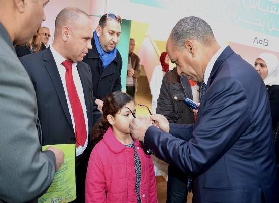 توزيع نظارات طبية على تلاميذ مدرسة لهبيل 3 بجماعة سيدي سليمان شراعة