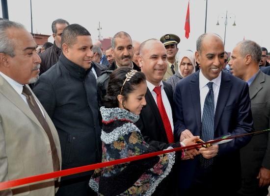 افتتاح سوق القرب النموذجي المؤقت بجماعة سيدي سليمان شراعة بركان