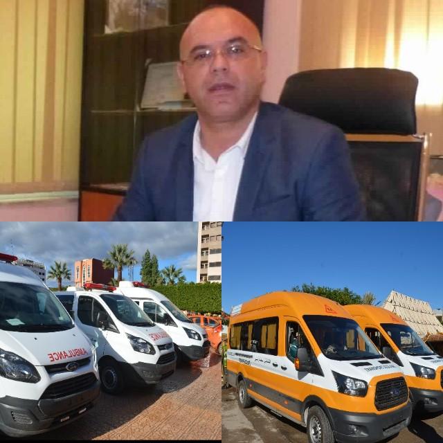 جماعة سيدي سليمان شراعة تستفيد من حافلات النقل المدرسي وسيارات إسعاف