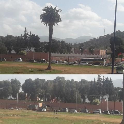 إضراب شامل وشلل حركة النقل بمدينة بركان