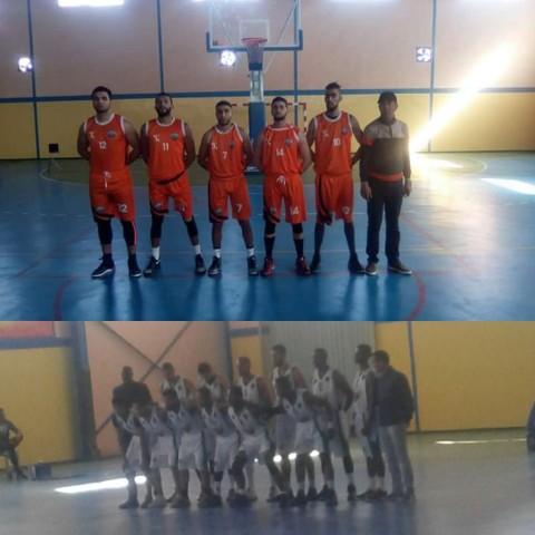 نادي أتلتيك بني يزناسن لكرة السلة ينتصر في مقابلة قوية على نادي رجاء أرفود