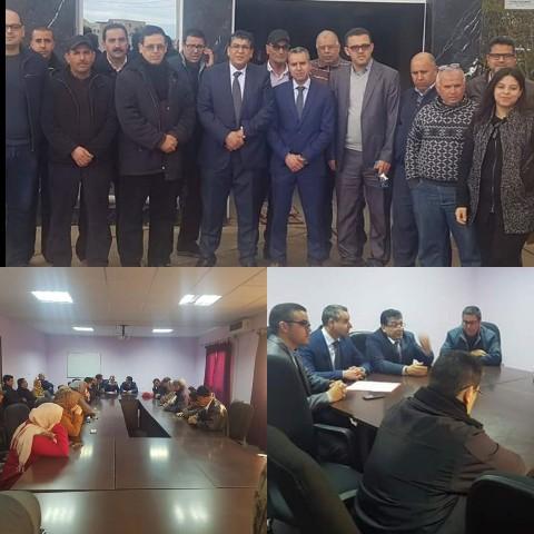 حفل تنصيب الدكتور «هشام علوي إسماعيلي» مندوب وزارة الصحة بإقليم جرسيف