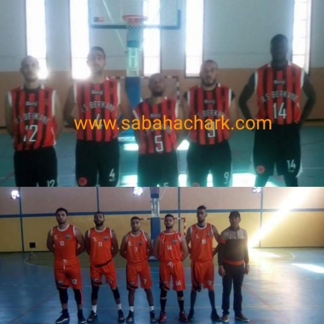 الديربي بركان لكرة السلة : 76 نادي أتلتيك بني يزناسن .91 نهضة بركان