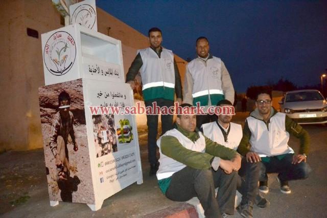 لأول مرة بالجهة الشرقية بنك الملابس .. مبادرة إنسانية تتبناها جمعية سنابل الخير بالعيون الشرقية