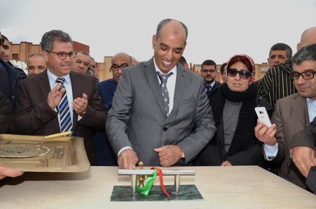عامل إقليم بركان يشرف على اعطاء انطلاقة عدة مشاريع تنموية بمدينة أحفير