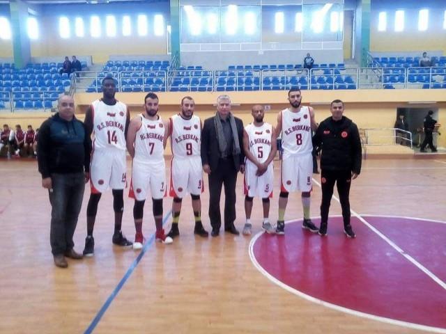 فريق نهضة بركان لكرة السلة يحقق ثالث انتصار في البطولة القسم الأول لكرة السلة