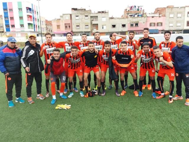 فريق أمل نهضة بركانلكرة القدم يحقق إنتصارا ثمينا على حساب نادي القنيطري بهدفين لواحد