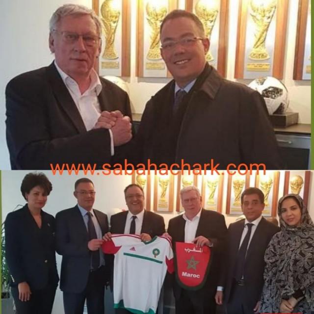 رسمياً… بلجيكا تدعم ملف ترشيح المغرب لاستضافة نهائيات كأس العالم 2026